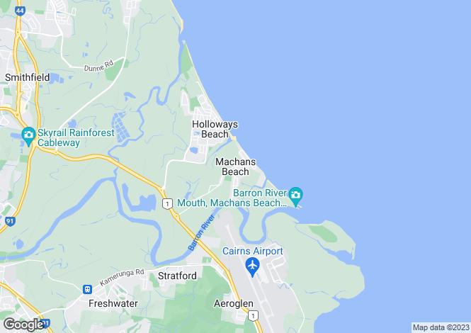 Map for 56 Waite Street, MACHANS BEACH 4878