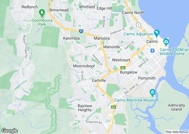Map for 14 Hammond Court, MOOROOBOOL 4870