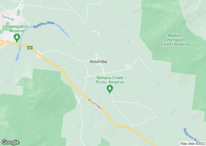 Map for 57 Kenny Road, ALOOMBA 4871