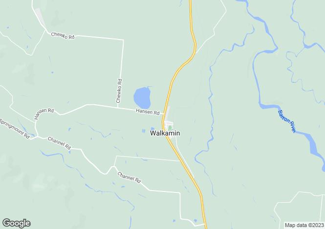 Map for WALKAMIN 4872
