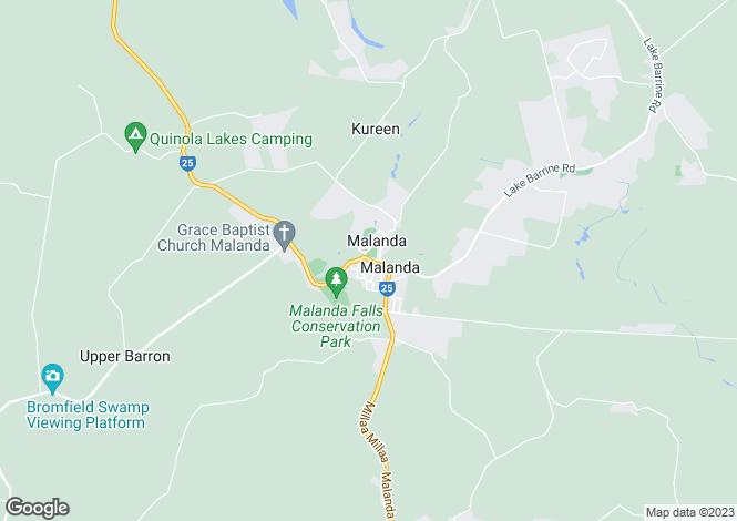 Map for MALANDA 4885