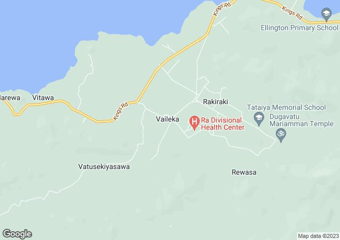 Map for Rakiraki