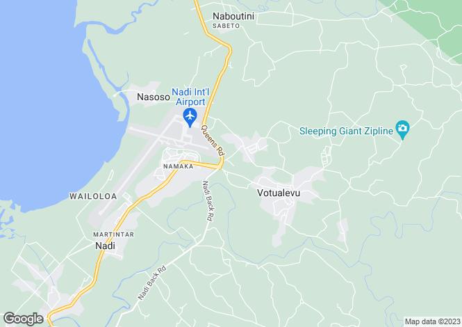 Map for Nadi