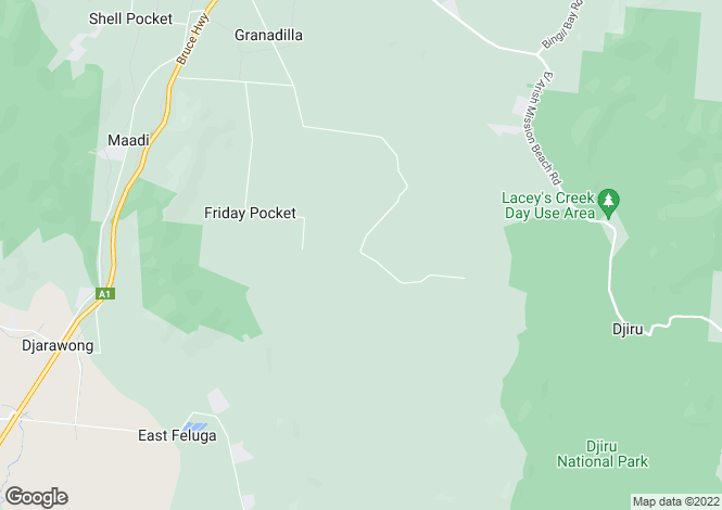 Map for 870 Granadilla Road, GRANADILLA 4855
