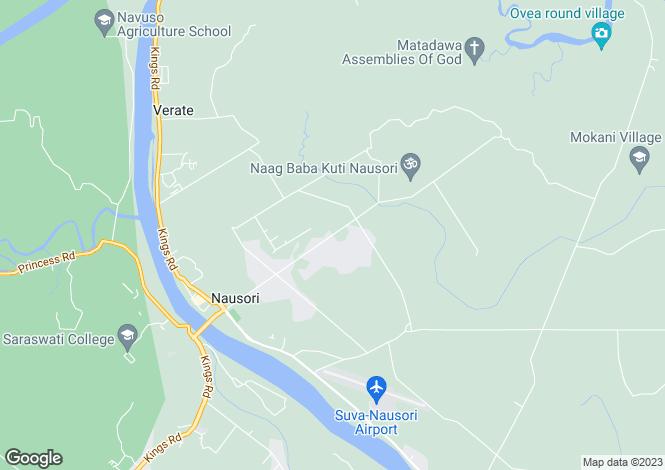 Map for Nausori