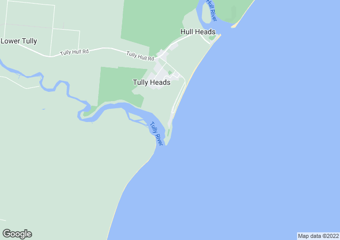 Map for 3 Muir Street, TULLY HEADS 4854