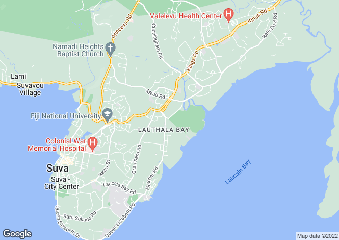 Map for Suva