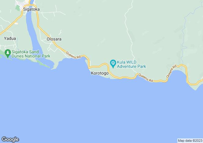 Map for Sigatoka