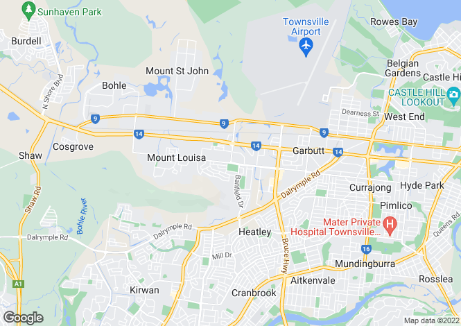 Map for 3 Mutch Court, MOUNT LOUISA 4814