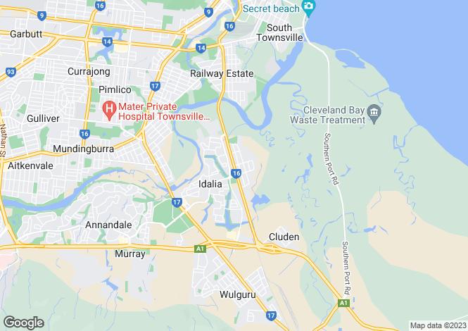 Map for 24 McAlister Street, OONOONBA 4811