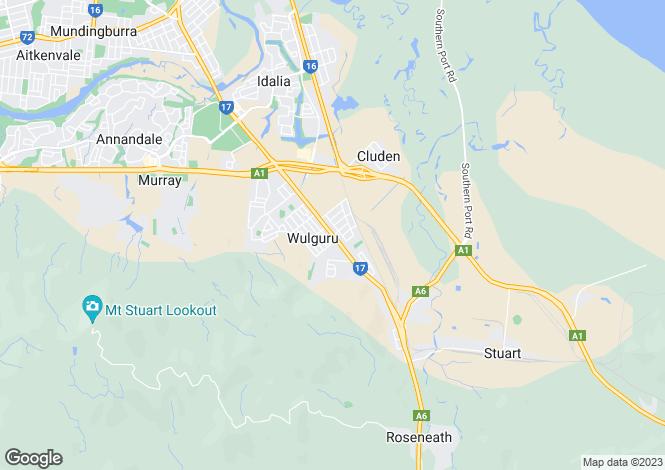 Map for 27/157-159 Stuart Drive, WULGURU 4811