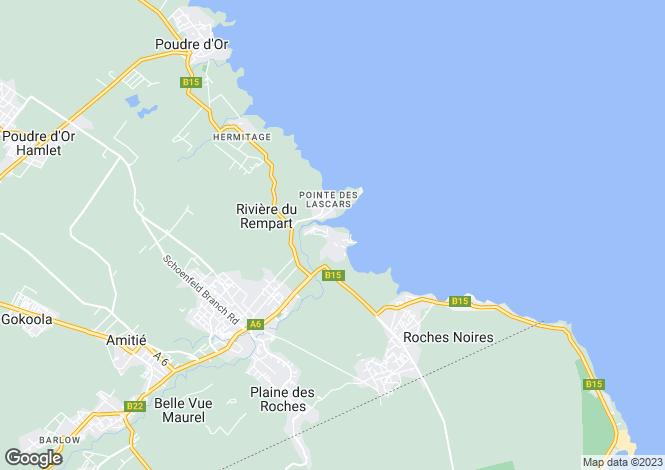 Map for Rivere Du Rempart