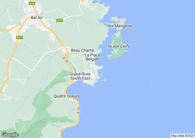 Map for L'Adamante, Anahita, Mauritius
