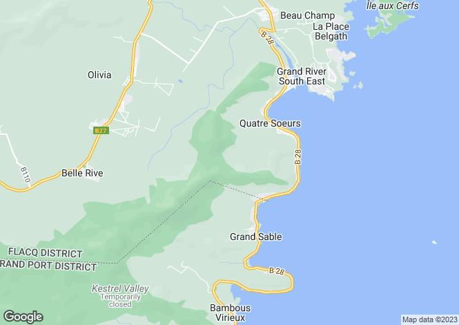 Map for Amalthea, Anahita, Mauritius