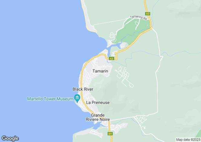 Map for Tamarin