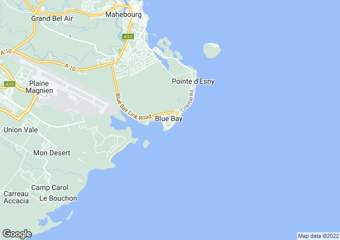 Map for Blue Bay