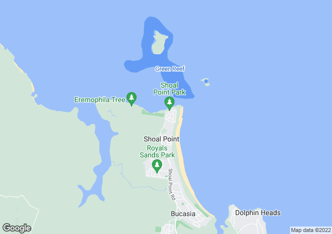 Map for 11 Turnbuckle Street, SHOAL POINT 4750