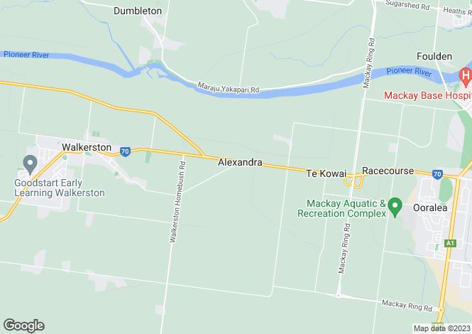 Map for 17 Lambrook Court, ALEXANDRA 4740