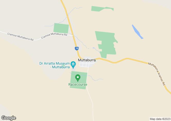 Map for 17 Sword street, MUTTABURRA 4732