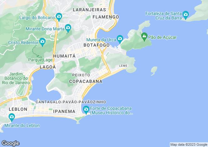 Map for Rio de Janeiro, Rio de Janeiro