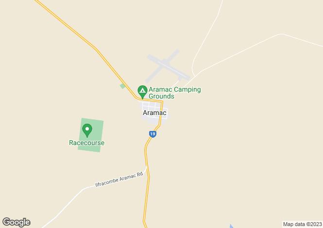 Map for 60 Porter street, ARAMAC 4726