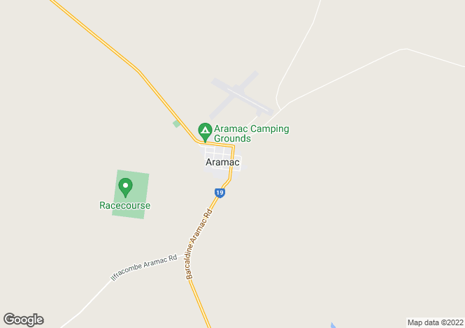 Map for 51 Burt street, ARAMAC 4726