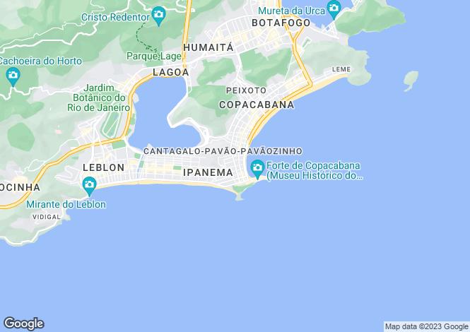 Map for Brazil
