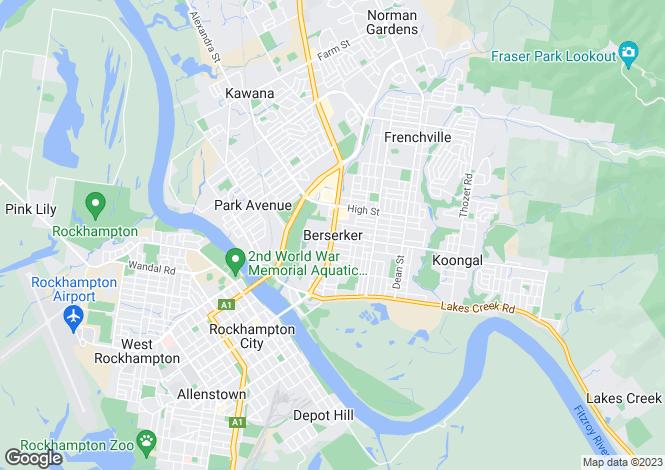 Map for Unit  2 3 5 & 6/15 Card Street, BERSERKER 4701