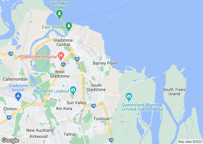 Map for 21 The Esplanade, BARNEY POINT 4680
