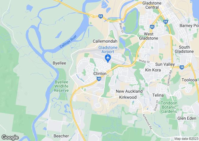 Map for 30 Keppel Avenue, CLINTON 4680