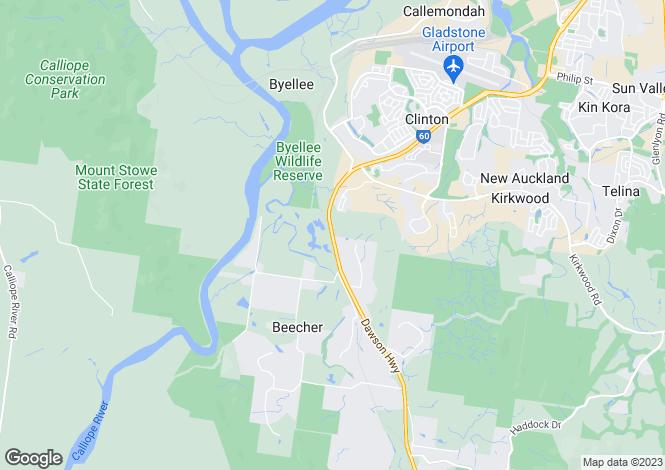 Map for 114 Schulze Road, BEECHER 4680