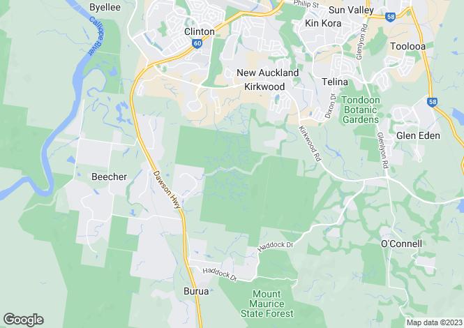Map for 68 Iris Road, KIRKWOOD 4680