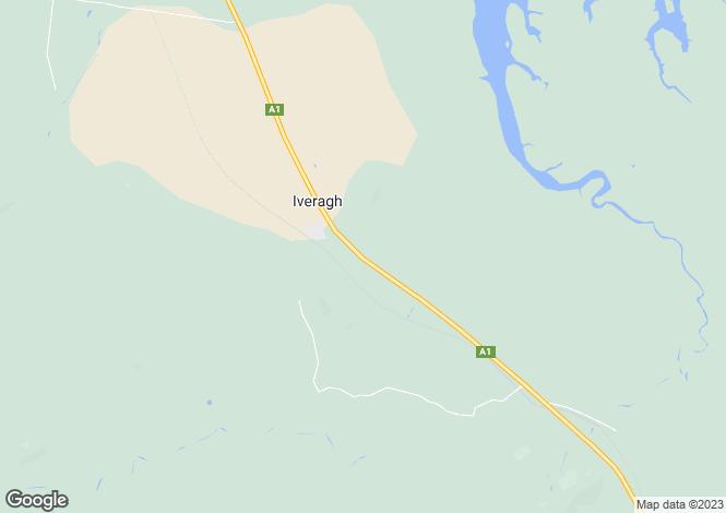Map for 48097 Bruce Highway, IVERAGH 4680