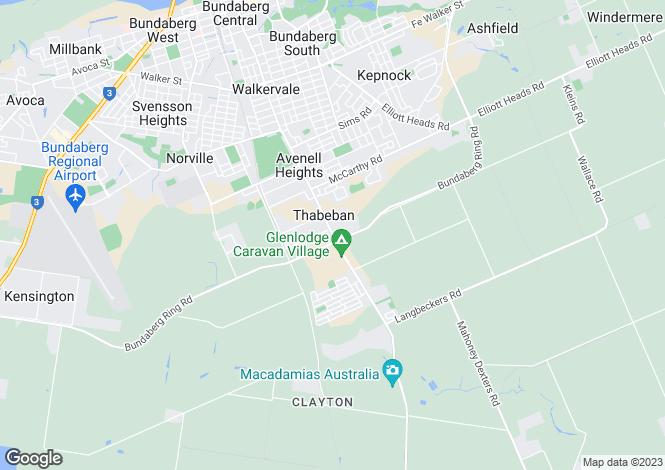 Map for 3/47 Thabeban Street, Thabeban 4670