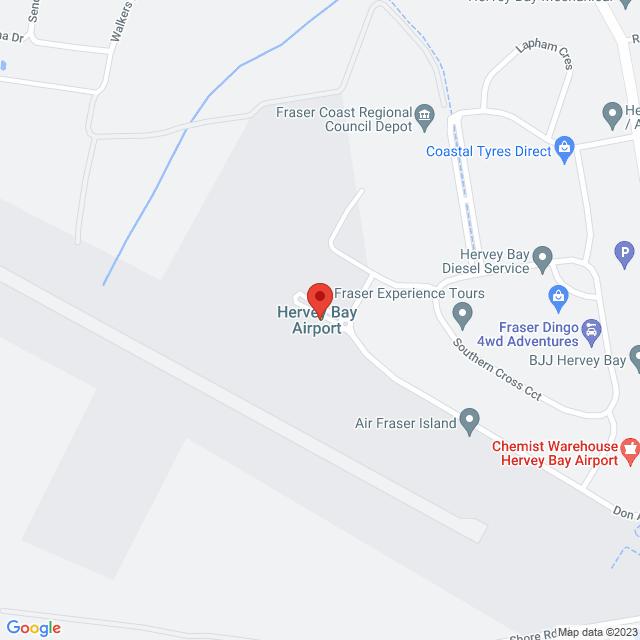 Avis Car & Truck Rental (Hervey Bay Airport) Location Map