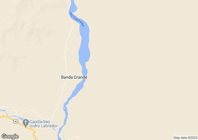 Map for Salta, Molinos