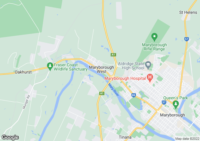 Map for Lot 54 Commercial Drive, Maryborough West 4650