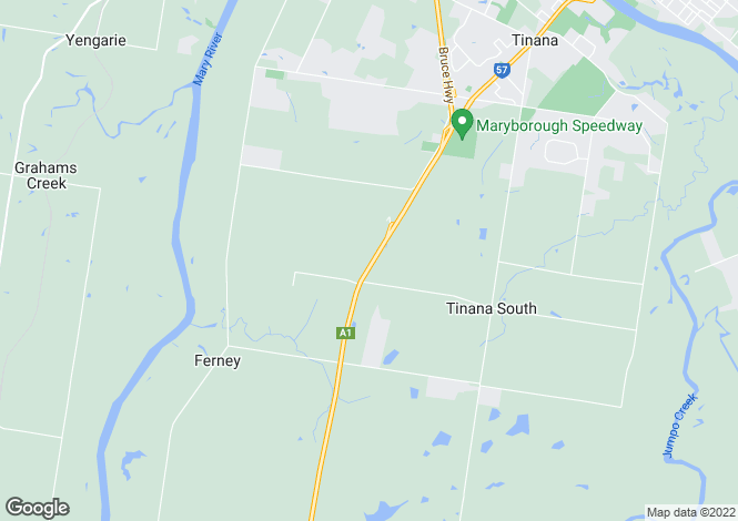 Map for 416 Teddington Road, TINANA SOUTH 4650
