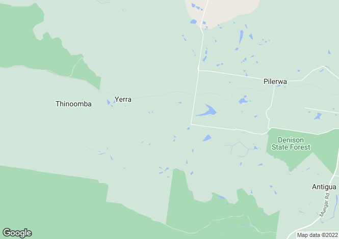 Map for 3 Harris Road, YERRA 4650