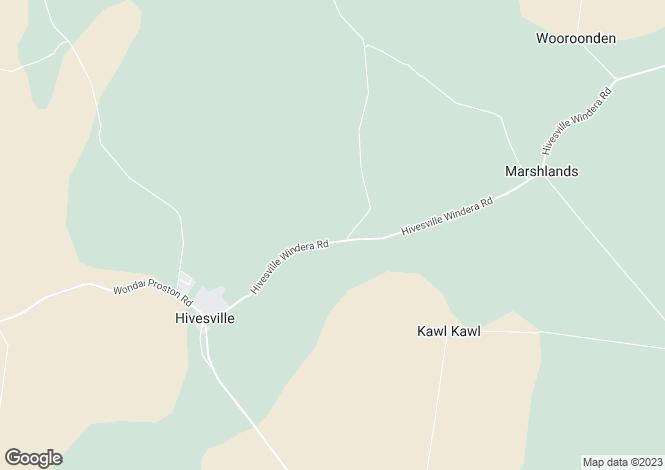 Map for Queensland, Stonelands