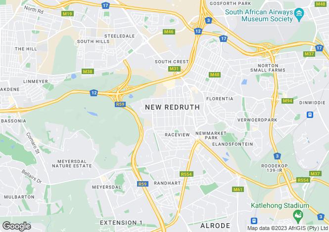 Map for 932 Quartz Close, Mooikloof Glen, Pretoria East, Gauteng