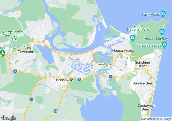 Map for NOOSAVILLE 4566