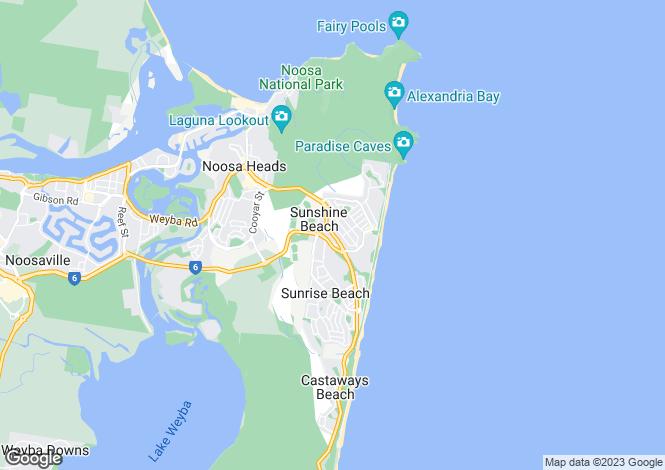 Map for 7/17 Parkedge Road, SUNSHINE BEACH 4567