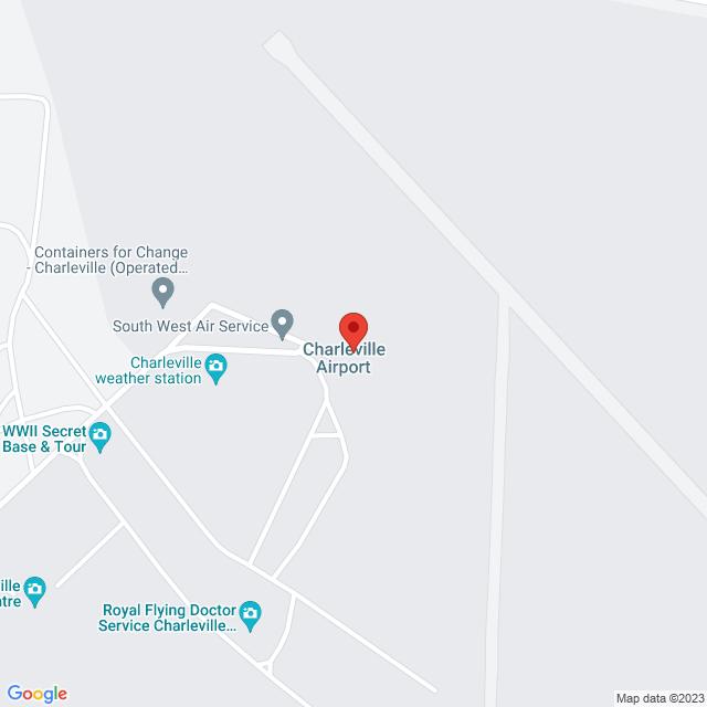 Avis Car & Truck Rental (Charleville) Location Map
