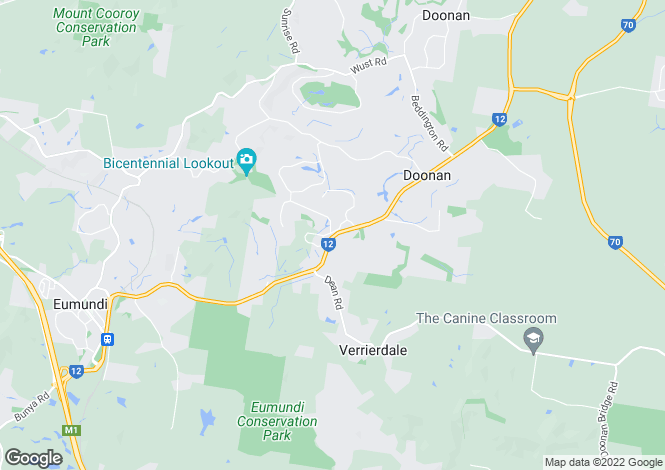 Map for DOONAN 4562