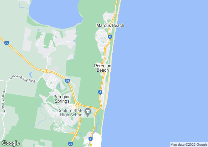 Map for 8 Lorikeet Drive, PEREGIAN BEACH 4573