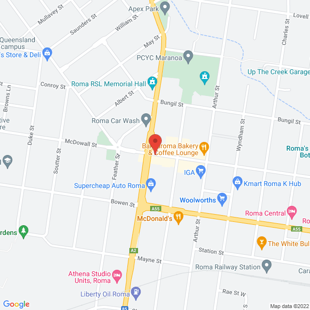 Avis Car & Truck Rental (Roma) Location Map