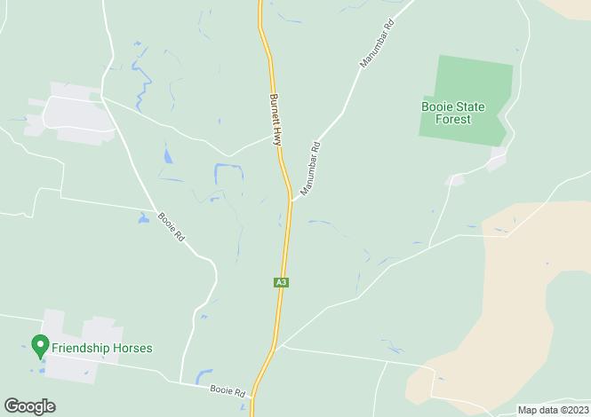 Map for 749 Burnett Highway, GLAN DEVON 4615