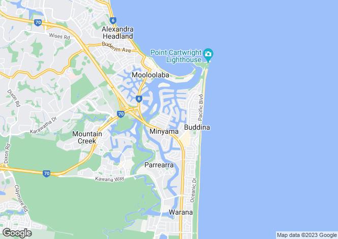 Map for 64/2 Longwood St, MINYAMA 4575