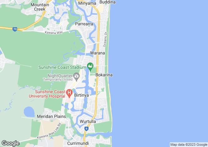 Map for 12 Beachcomber Court, BOKARINA 4575